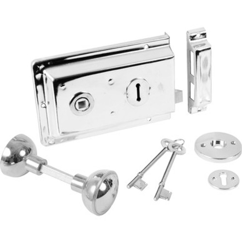 Era Rim Lock and Knobs Available in 5 Finishes