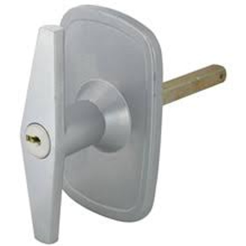 Silver Garage Door Handle