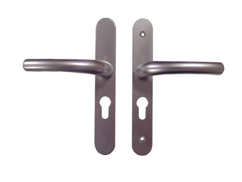 Hoppe UPVC Lever/Lever Door Handle PZ48mm 160mm Screw Centres