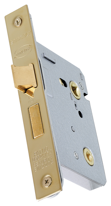 Gridlock Mortice Bathroom Lock