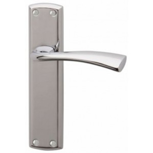 Grosvenor Polished Chrome Lever on Backplate