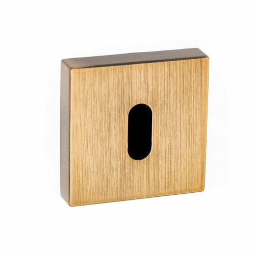Forme Key Escutcheon Square Minimal Rose FMSKYB