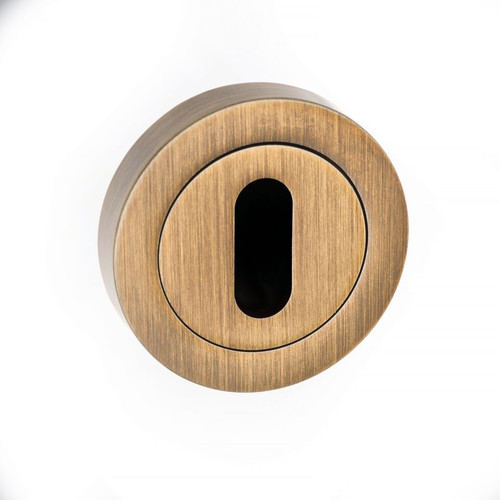 Forme Key Escutcheon Round Contempo Rose FCRK
