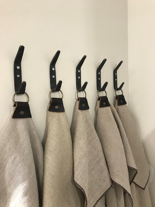 Double Coat Hook with Aprons