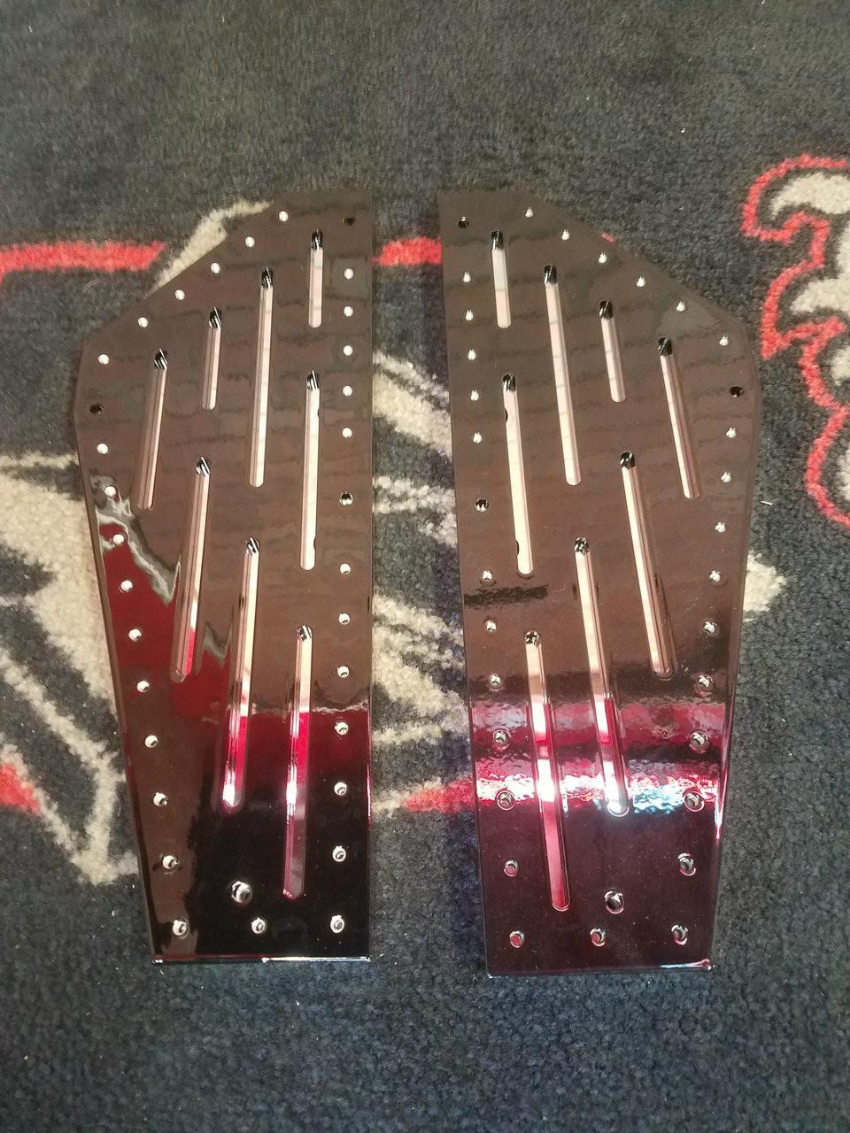 Blacksmith Phantom Grid Lock 2 piece Floorboards Yamaha/Star Cruiser