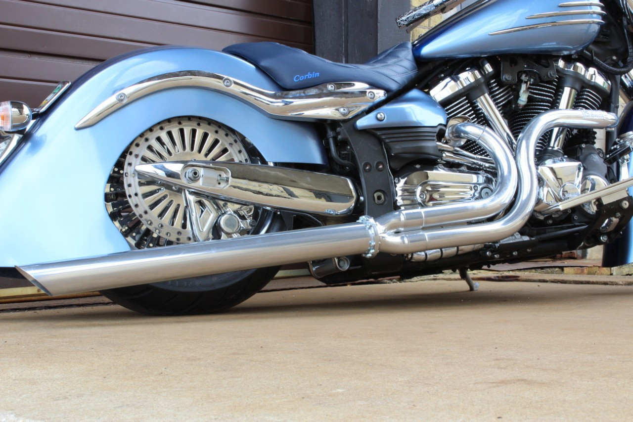 Blacksmith Motoring Phantom Long Shot Exhaust tips