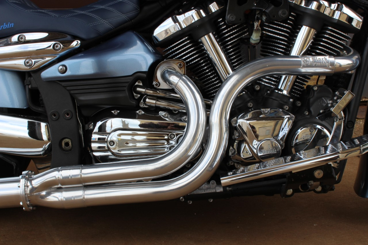 Blacksmith Motoring Phantom Long Shot Exhaust system