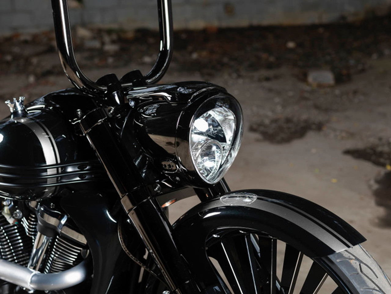 Blacksmith Retroliner Le Mans C26 OEM headlight and Nacelle cover