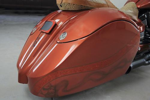 Blacksmith Phantom S Hard-bag for Star Roadliner and Stratoliner right side