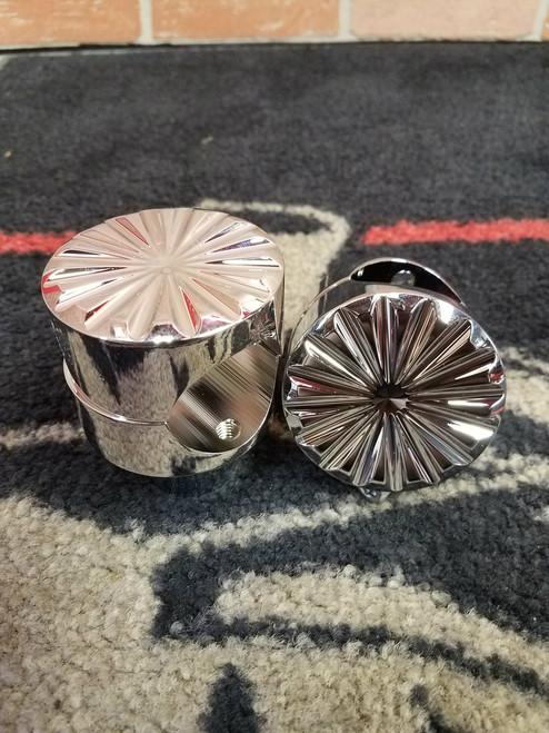 Blacksmith Vegas Roulette 1.50 inch Risers. Chrome