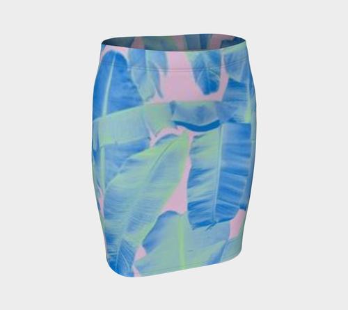 Blue•Leaf Skirt