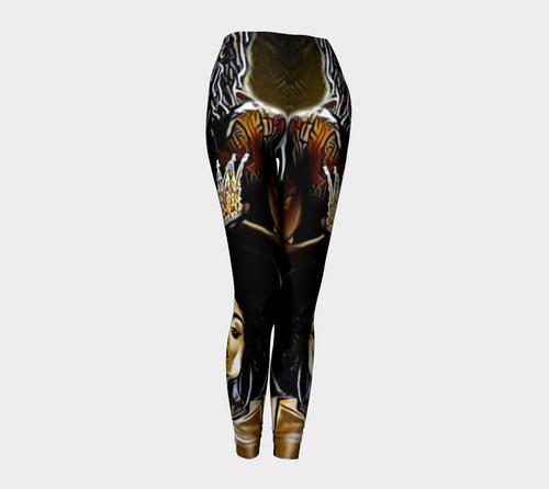 Black•Royalty  Leggings