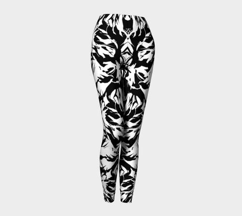 Black • White   Leggings