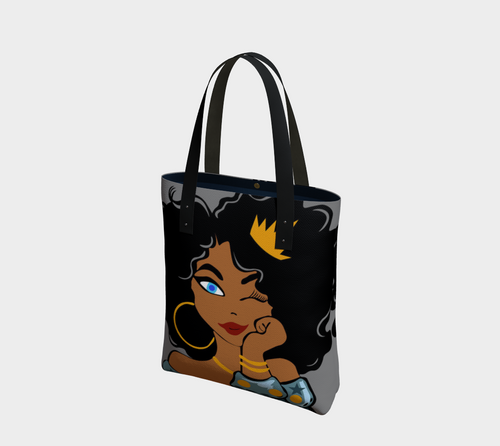 Young•Black•Queen Tote