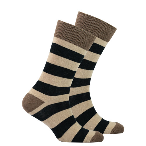 Men's Sand Stripe Socks
