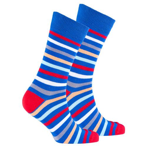 Men's Red Sea Stripe Socks