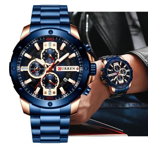 Quartz Luxury Sports Watch