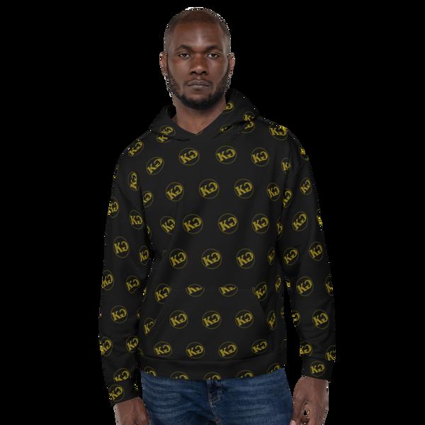Kemet Genix (KG) Black/Gold Hoodie