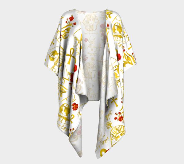Sovereign Egypt Draped Kimono
