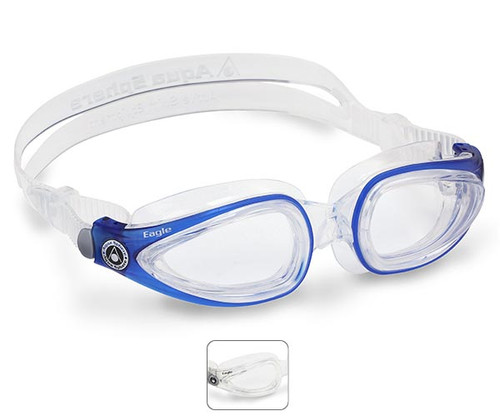 Eagle Prescription Swimming Goggles from Aqua Sphere Australia