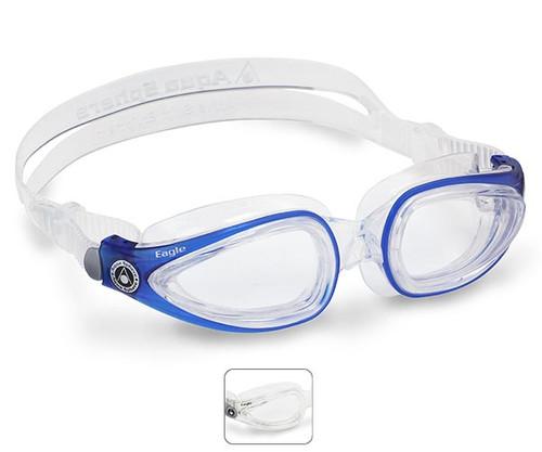 Eagle Prescription Swimming Goggles from Aqua Sphere Australia