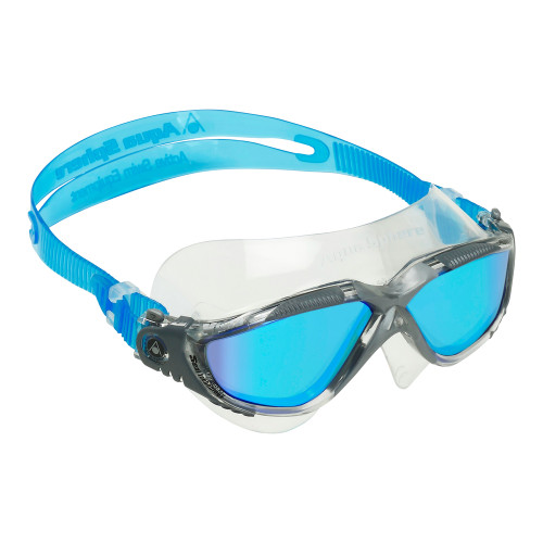 Vista Swim Mask - Titanium Mirror Lens