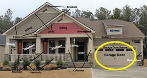 Exterior Garage Door Painting. Select to view all options and pricing.