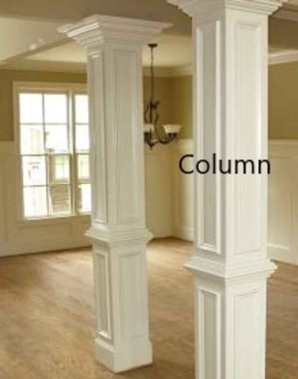 Interior Columns: up to 10 feet. Select to view all options and pricing