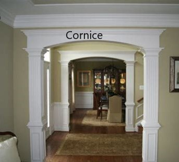 Interior Sidelights, Transoms & Cornices: 1 Side, Select to view all options and pricing