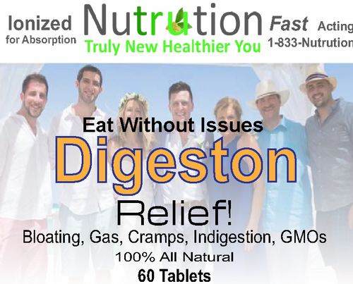 Digestion Relief! GMO Stabilizing Tablets