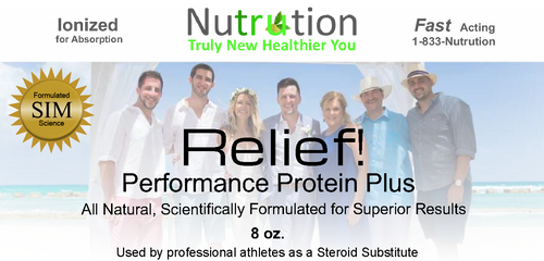 Amino Protein Relief! Powder