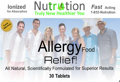Food Allergy Relief! Tablets