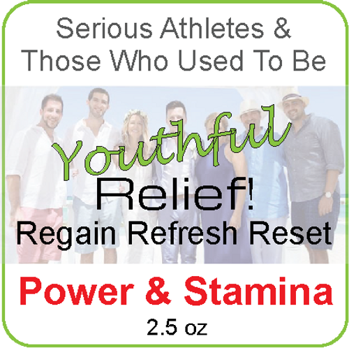 Power Stamina Relief! Powder