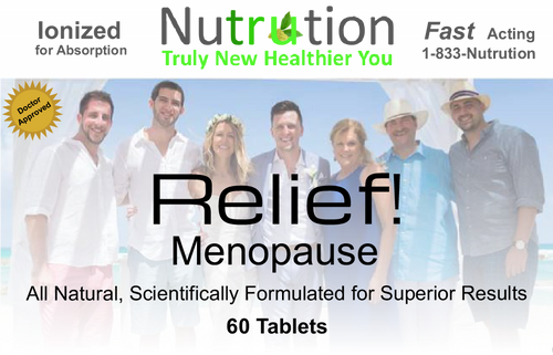Menopause Relief! Tablets
