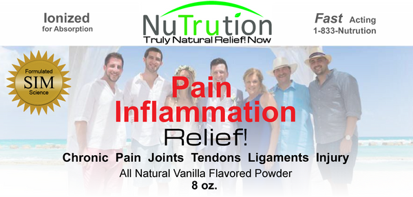 Pain & Inflammation Relief! Powder