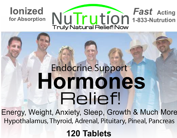 Endocrine Relief! Hormones Support Tablets