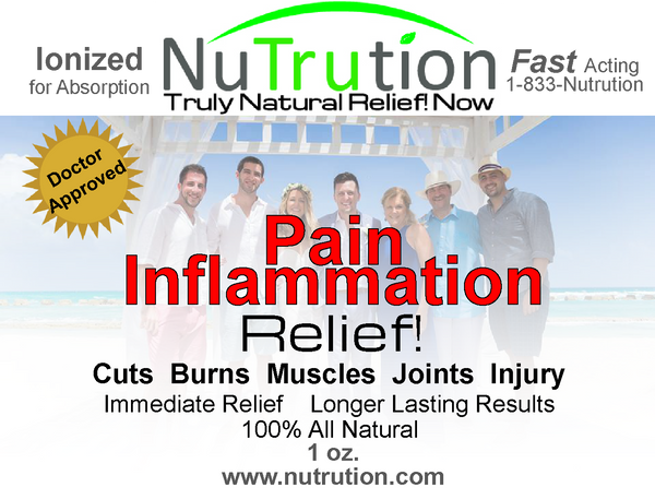 Pain & Inflammation Relief! Spray