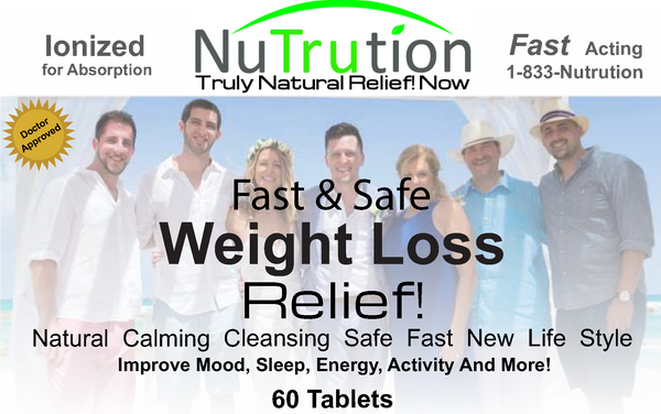 Weight Loss Relief! 4 Day Diet - Meal Plan & Tablets