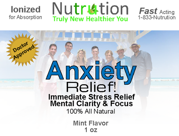 Anxiety Relief! Spray