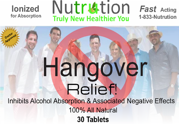 Hangover Relief! Tablets