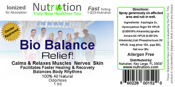 Bio Balance Relief! Spray