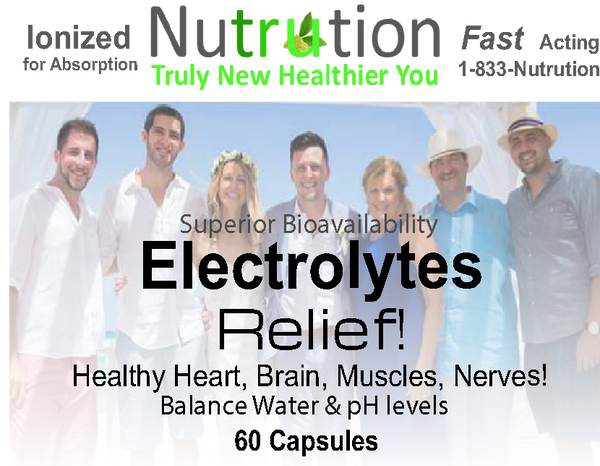 Electrolytes Relief! Capsules