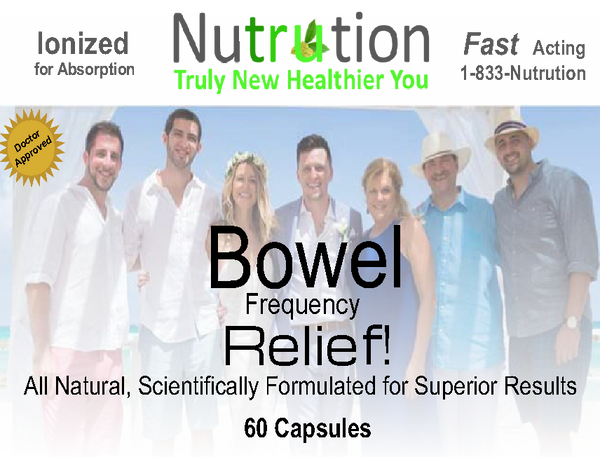 Bowel Frequency Relief! Capsules