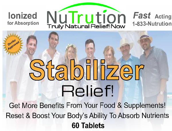 Stabilizer Reset Relief! Tablets
