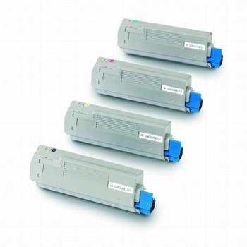 Compatible Oki C5600/C5700 Toner Cartridge Value Pack