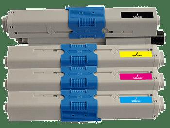 Compatible Oki C510DN Toner Cartridge Value Pack