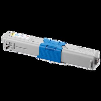 Compatible Oki 44469704 Yellow Toner Cartridge
