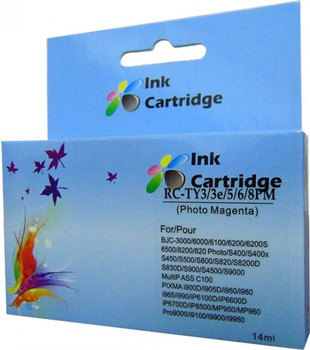 Compatible Canon BCI-6 Photo Magenta Inkjet Cartridge