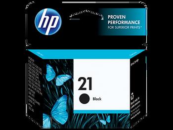 Genuine HP 21 Black Inkjet Cartridge C9351AE