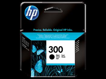 Genuine HP 300 Black Inkjet Cartridge CC640EE